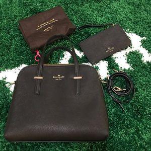 Kate Spade Cedar Street Maise Bag & Wallet - Black